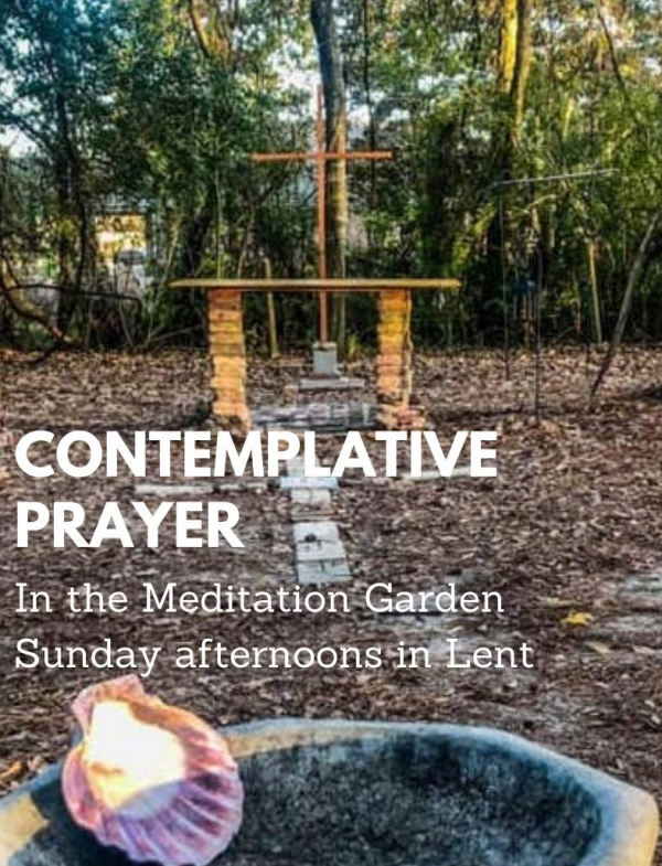 Contemplative Prayer in St. Margaret's Meditative Garden